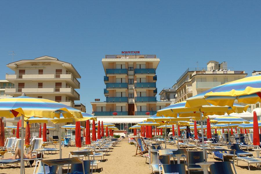 Hotel Souvenir vista mare